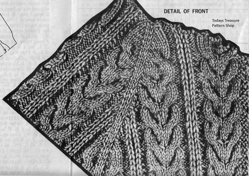 Cable Jacket Pattern Stitch