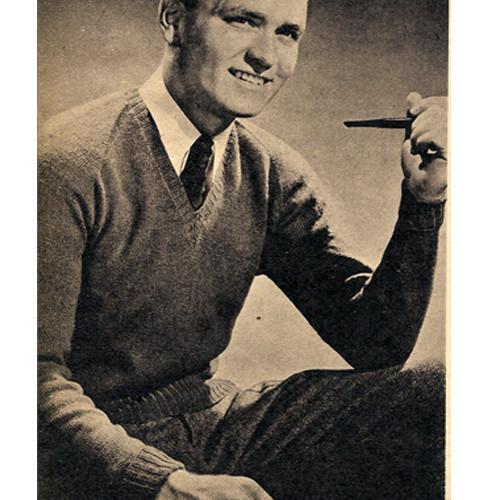 Slipover Knitting Pattern for Men