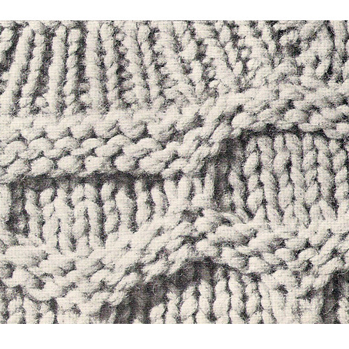 mans honeycomb sweater knitting pattern