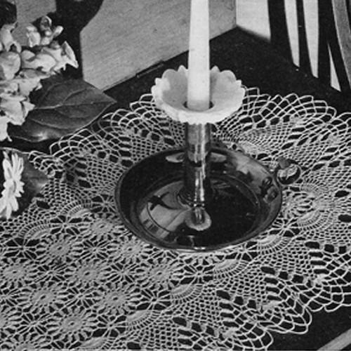 Vintage Pineapple Crocheted Runner Pattern