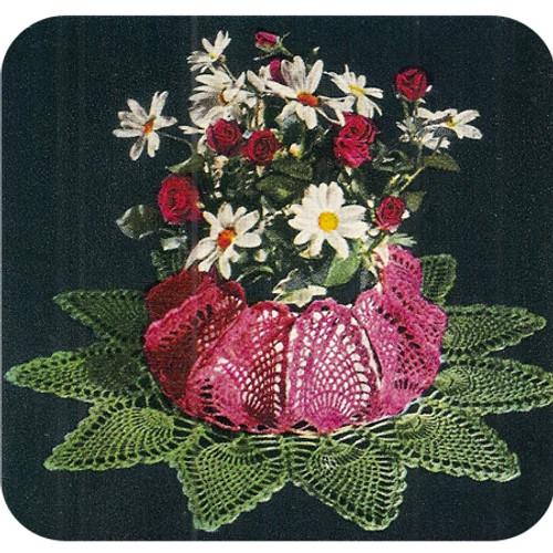Crocheted Pineapple Planter Bowl Pattern