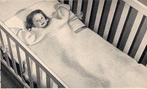Vintage Baby Sleeping Bag Crochet Pattern