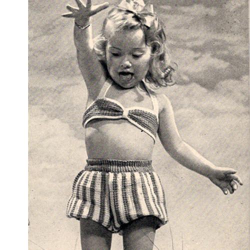 Childs Sun suit crochet pattern