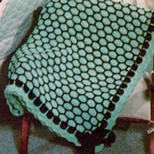 Boudoir Knitted Afghan Pattern