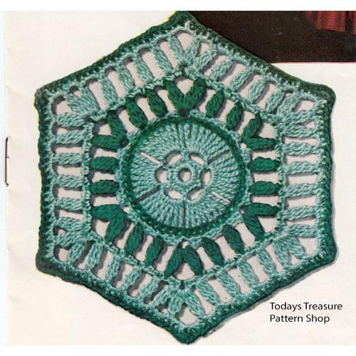 Texas Modern Crochet Medallion Pattern
