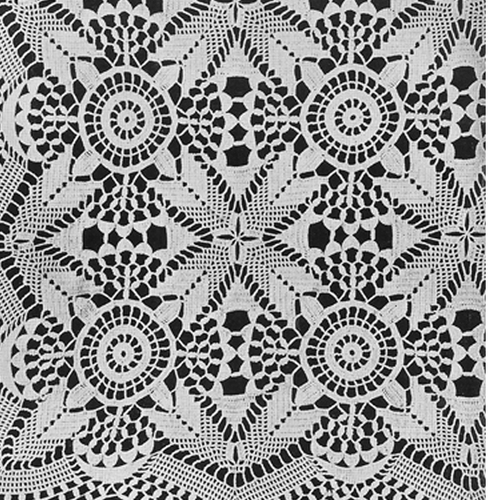 Vintage Crochet Lace Bedspread Pattern No 620