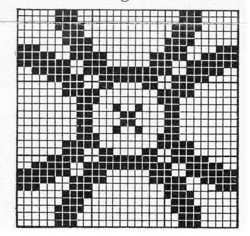 Golden Wedding Crochet Square Pattern