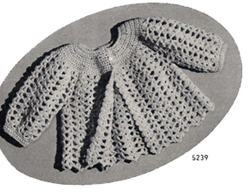 Chadwick Crocheted Baby Jacket Pattern