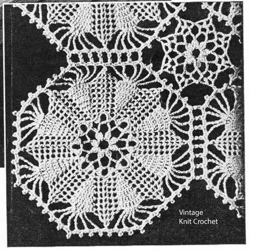 Crochet Hexagon Star Medallion Pattern