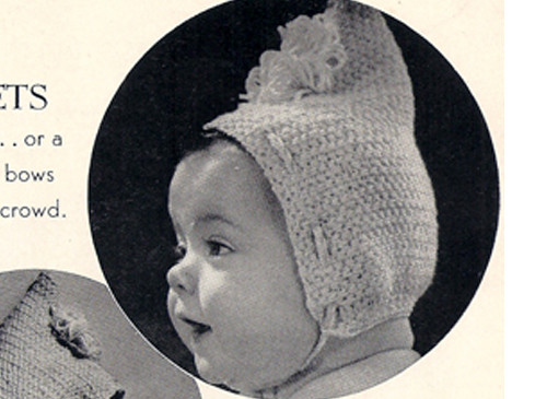 Baby Crocheted Pixie Cap Pattern