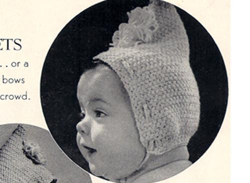 Baby Crocheted Pixie Cap Pattern
