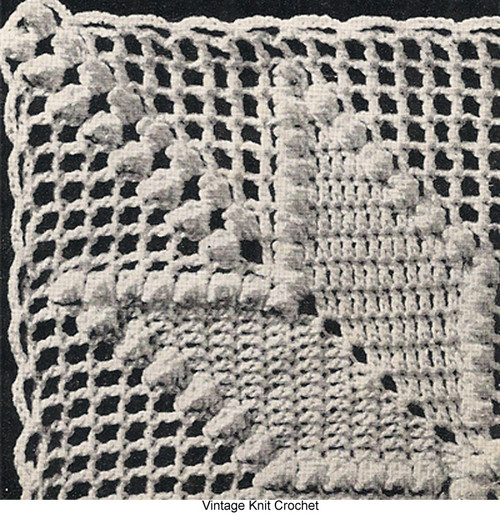 All American Crochet Square Pattern