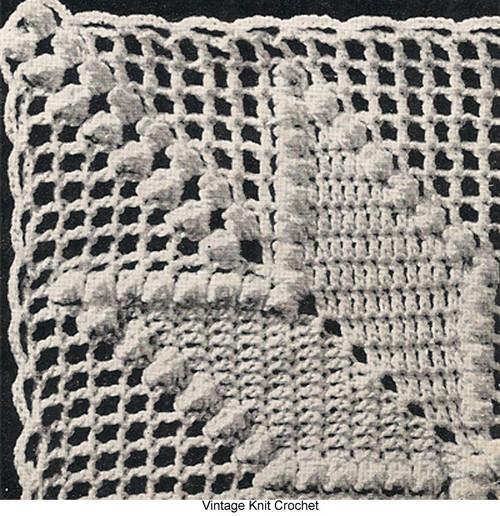 All American Crochet Square Pattern