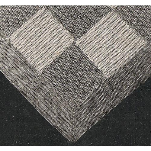 Checkerboard Crocheted Illustration
