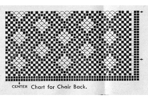 Crocheted Mesh Illustration