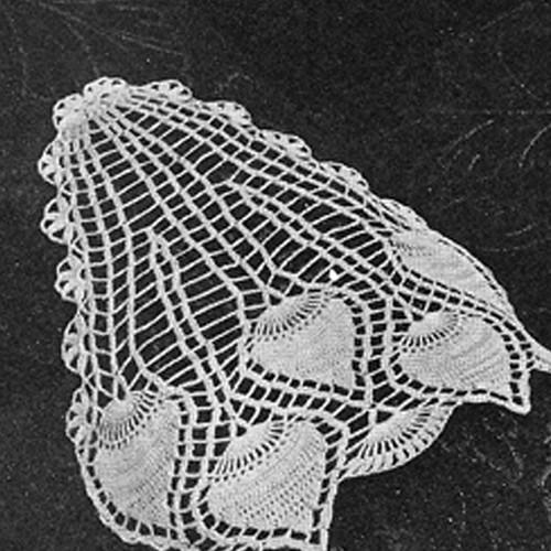 Pineapple Crochet Arm Rest Pattern