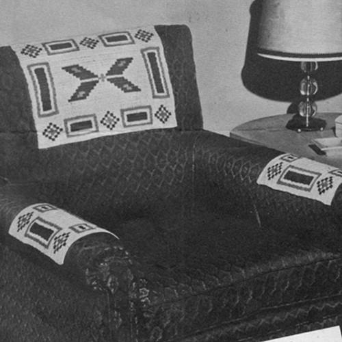 Crochet Aztec Chair Set Crochet Pattern