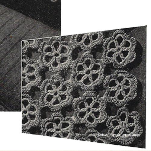 Small Flower Medallion Crochet Pattern