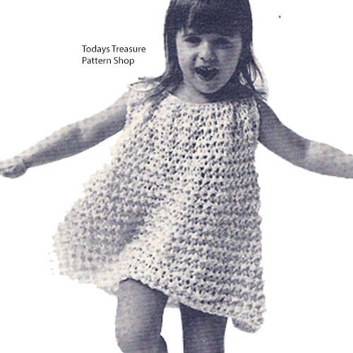Free Crochet Pattern, Toddler Dress
