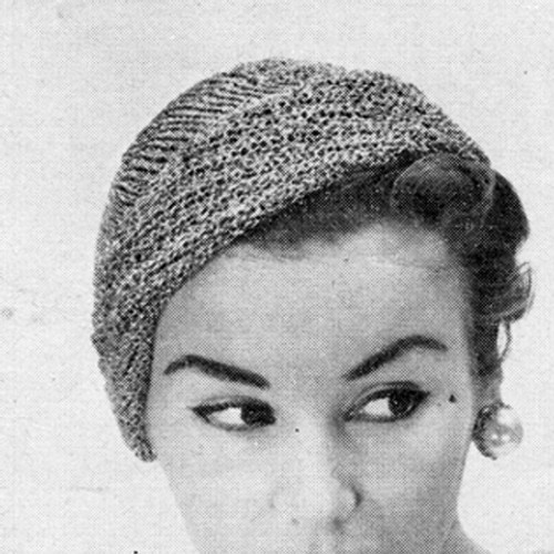 Vintage Cloche Knitting Pattern