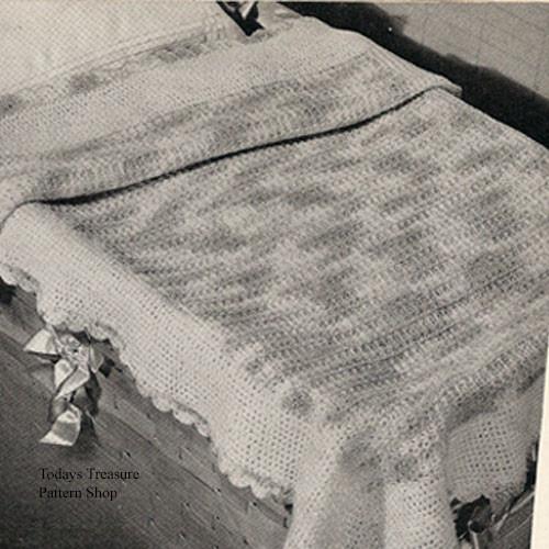 Baby Crocheted Blanket Pattern