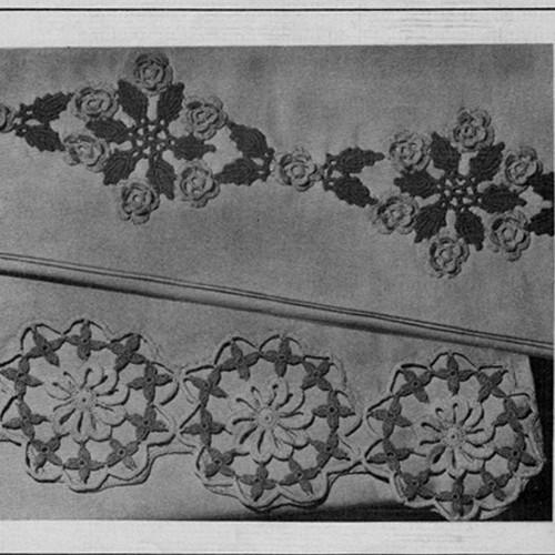 Crochet Edgings Pattern from 1950s