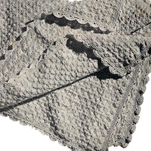 Easy Baby Blanket Crochet Pattern