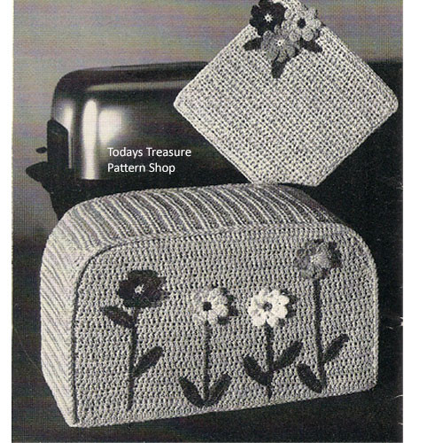 Vintage Crocheted Toaster Cover