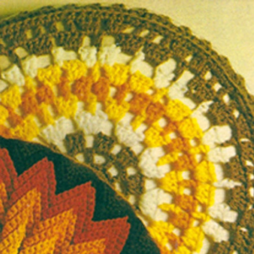 Crochet Star Pillow Pattern