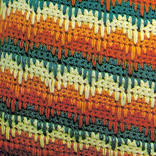 Vintage Bargello Pillow Crochet pattern