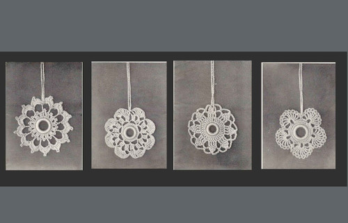 Doreen Curtain Pull Ornaments PDF Pattern Book
