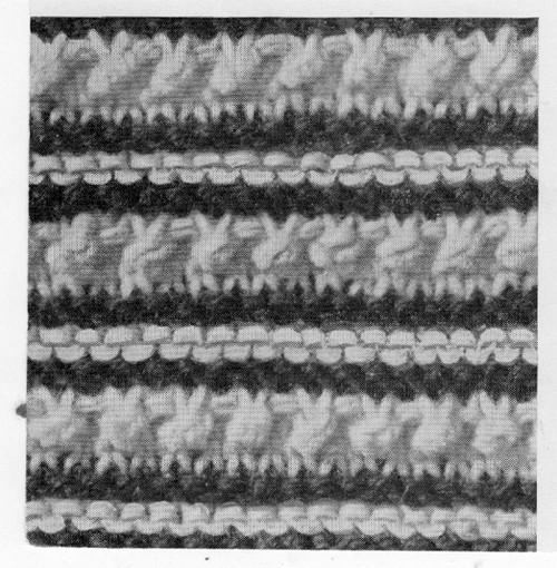 Knitted Blouse pattern Stitch