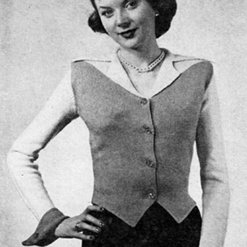 Vintage Westkit Knitting Pattern