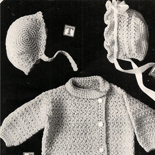 Baby Layette Pattern in Star Stitch