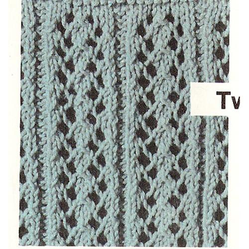 Sleeveless Top Knitted Pattern Stitch
