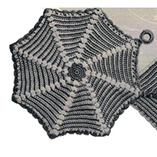 Vintage Crochet Pinwheel Doily Pattern