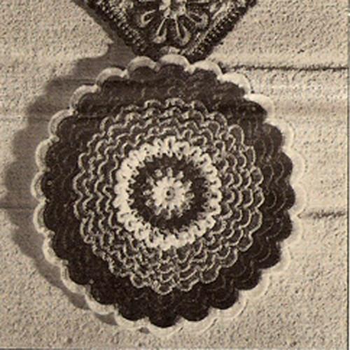 Crochet Sunflower Potholder Pattern