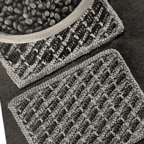 Easy Hot Mats, Free Crochet Pattern
