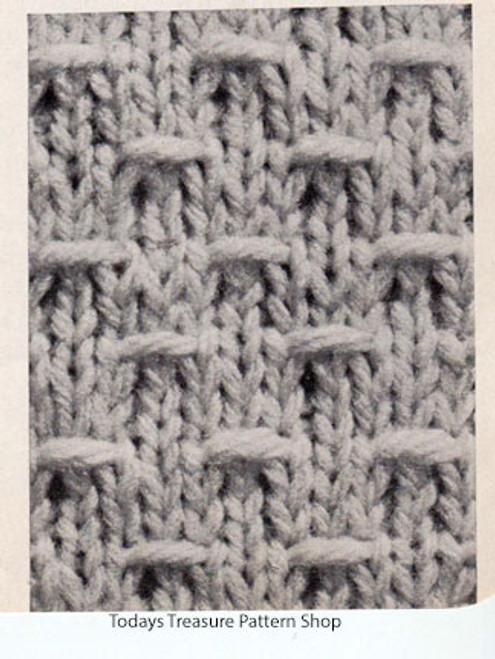 Knitted Cardigan Pattern Stitch
