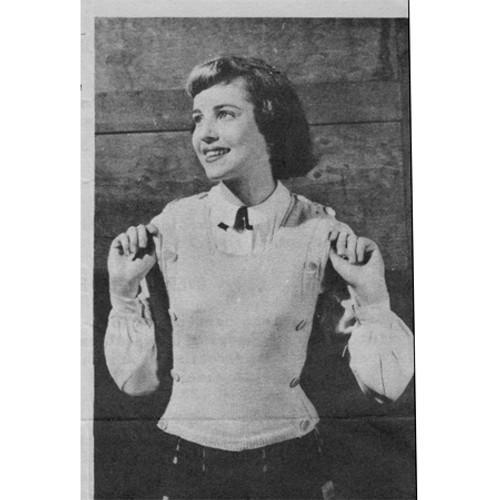 Vintage Jerkin Knitting Pattern