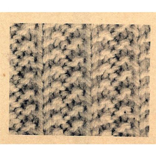 California Cardigan Knitted Pattern Stitch