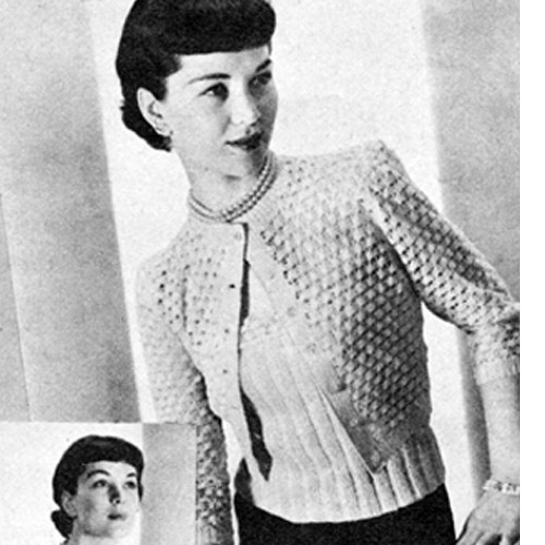 Lacy Knitted Cardigan Pattern