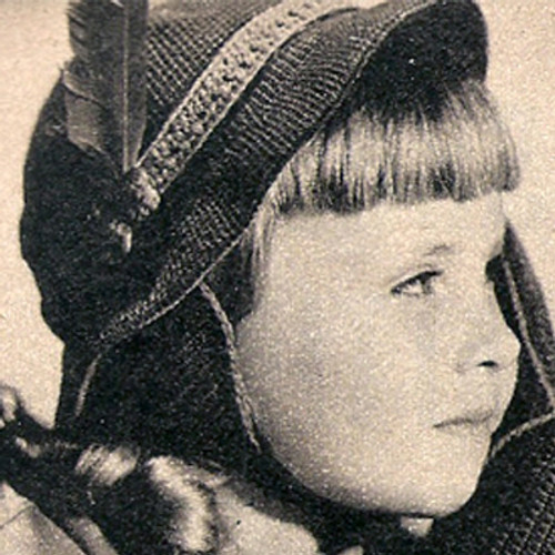 Crocheted Girls Cloche Pattern