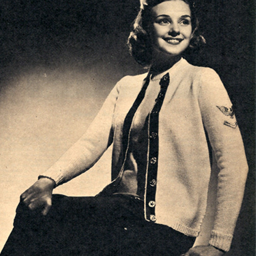 WWII Knitted Cardigan Pattern