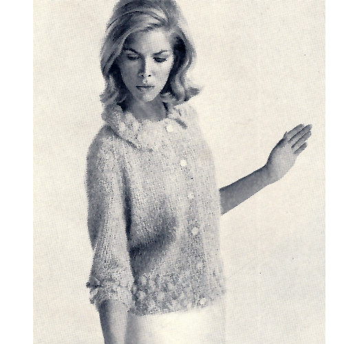 Raglan Sleeve Knit Cardigan Pattern