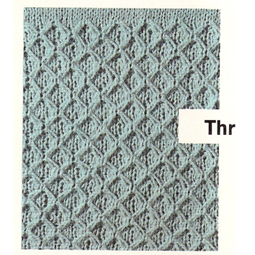 Pattern Stitch for Easy Knitted Jacket