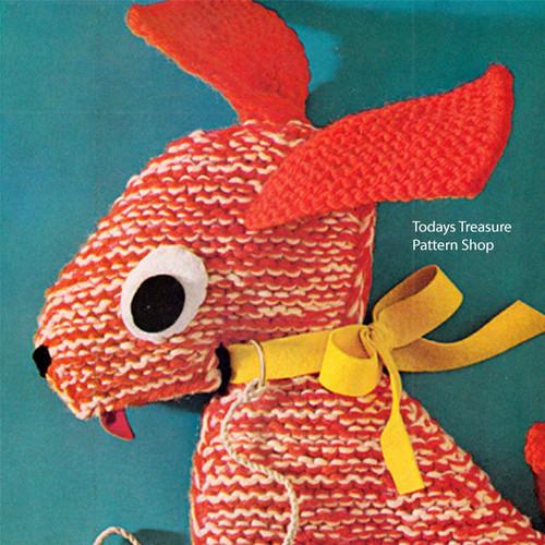 Vintage Basset Hound Crochet Pattern