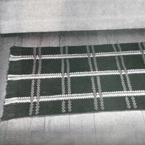 Plaid Area Rug Crochet pattern