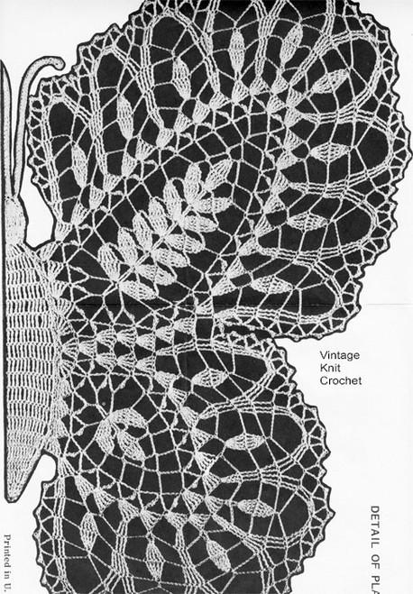 Pineapple Butterfly Wing Pattern Illustration, Alice Brooks 7117
