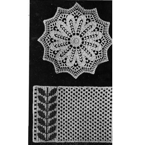 Vintage Crochet Hot Mats Pattern